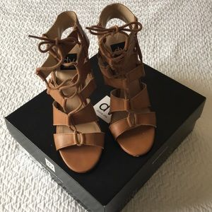 Dolce Vita Taupe Strapped sandals
